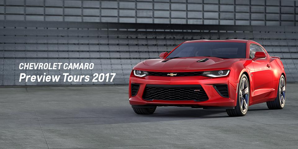 Chevrolet Camaro Preview Tours 2017_期間:2017.5.20[土]-2017.5.21[日]