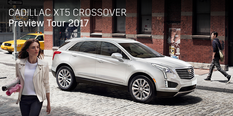 CADILLAC XT5 CROSSOVER PREVIEW TOUR 2017 開催_期間:2017.9.2[土]-2017.9.3[日]